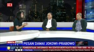 Wawancara Komarudin Watubun Pesan Damai Jokowi Prabowo untuk Demokrasi Indonesia