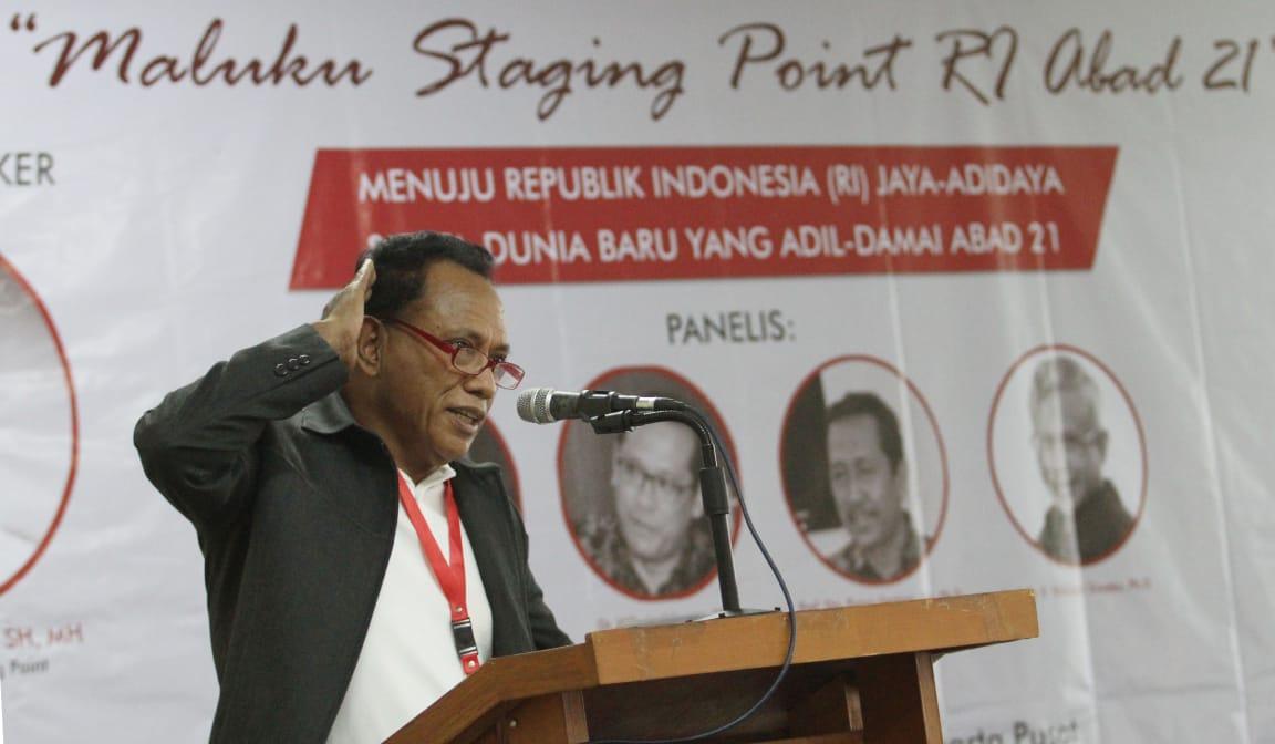 Komarudin Watubun: Titik Besar Indonesia Bermula di Maluku