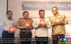Komarudin Watubun Angkat Kejayaan Maluku lewat Buku