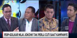 Gerindra: Presiden Tidak Cuti Kampanye Melanggar Undang-Undang