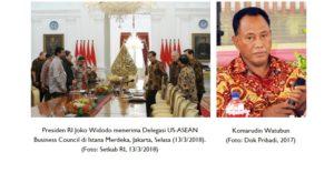 Indonesia Raya, ASEAN & Amerika Serikat