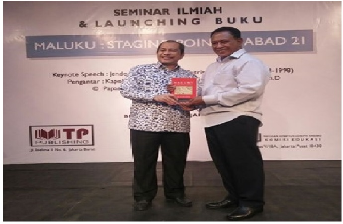 Bedah Buku Maluku : Staging Point RI Abad 21