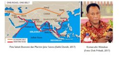 Indonesia Raya, AIIB & Jalur Sutera Tiongkok
