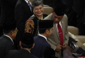Bung Komar Hadiri Pelantikan Presiden dan Wakil Presiden RI 2019-2024