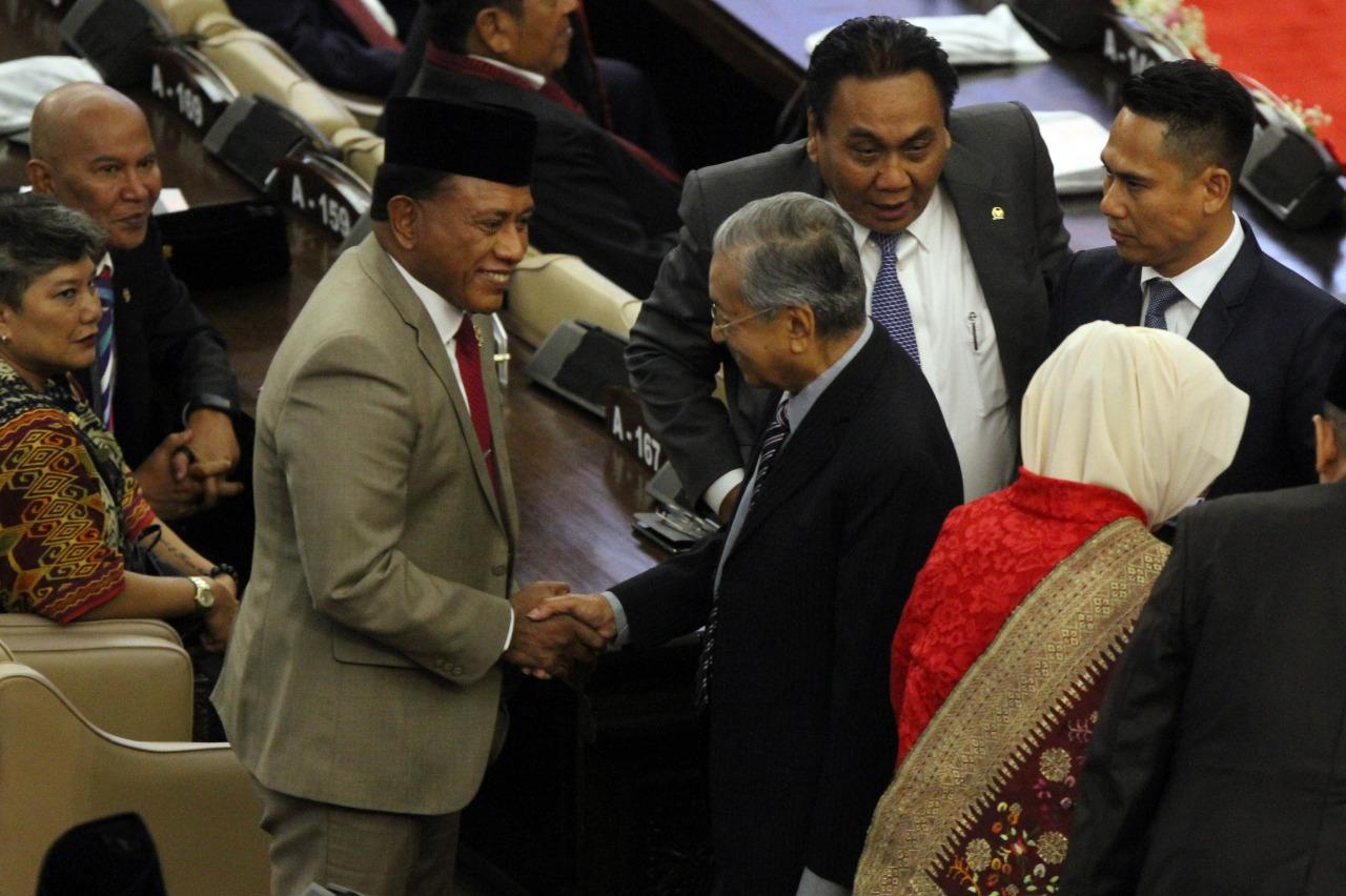 Momen Pelantikan Presiden Joko Widodo dan Wapres KH Ma'ruf Amin