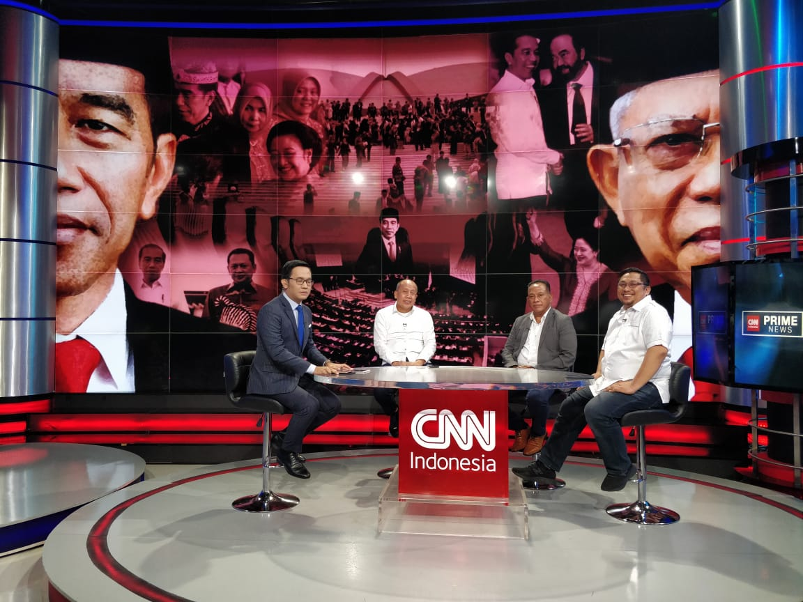 Moment Bung Komar di CNN Indonesia TV