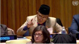 Komarudin Watubun Usulkan Perdamaian Dunia dan Pelestarian Ekosistem Global