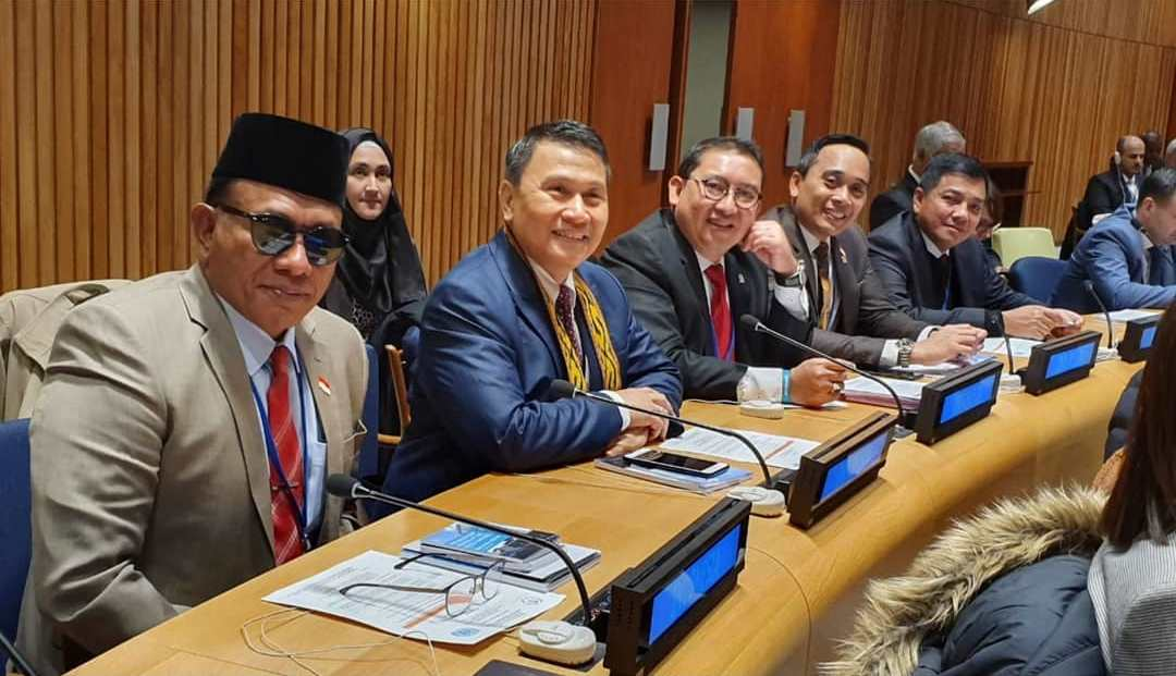 Pidato Lima Menit Bung Komar di Sidang Tahunan PBB, New York AS
