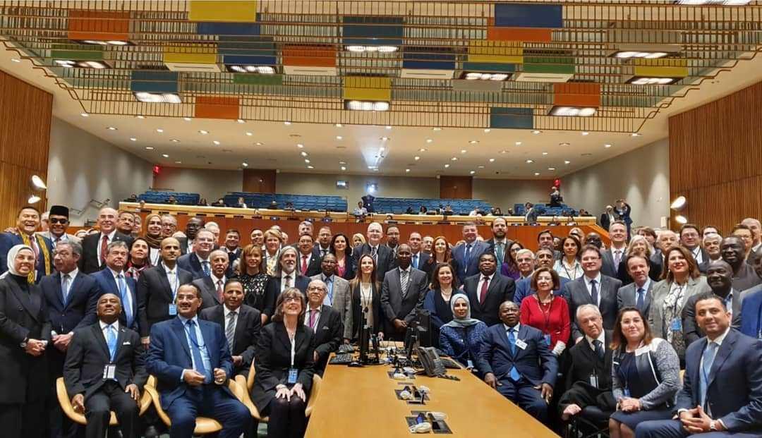 Komarudin Watubun Bersama Delegasi DPR RI Hadiri Sidang PBB di New York Amerika Serikat